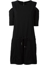 Diesel Cold Shoulder Playsuit Black