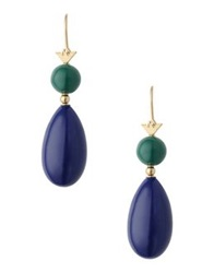 Emporio Armani Earrings Blue