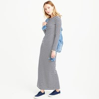 J.Crew Long Sleeve Striped Maxi Dress