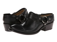 Frye Carson Clog Black Washed Antique Pull Up Women's Clog Shoes