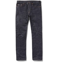 Valentino Slim Fit Selvedge Denim Jeans Blue