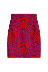 Mary Katrantzou Wool Skirt Multicolor