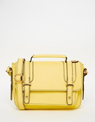Oasis Across Body Satchel Yellow