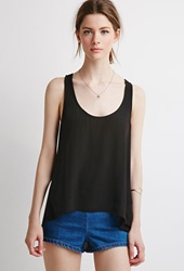 Forever 21 Layered Sleeveless Top Black