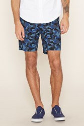 Forever 21 Geo Print Cotton Shorts