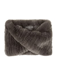 Harrods Of London Small Twisted Fur Snood Female