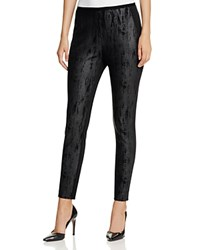 T Tahari Zena Animal Print Leggings Black