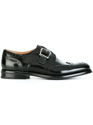 Church's Monk Strap Shoes Black