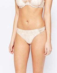 Ultimo Pearl Thong Peach