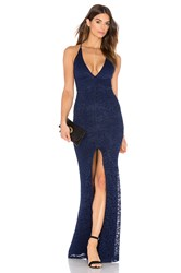 Nookie Rebel Heart Gown Navy