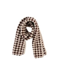 Local Apparel Oblong Scarves Maroon