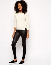 Vero Moda Wet Look Leggings Black