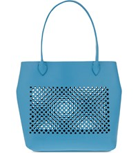 Sophie Anderson Alula Nappa Leather Tote Sky
