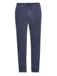James Perse Mid Rise Cotton Track Pants