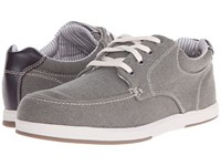Sebago Mason Lace Up Taupe Canvas Leather Men's Shoes