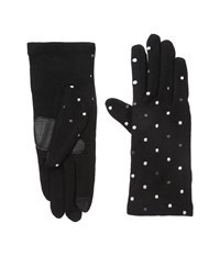 Echo Touch Pop Dot Gloves Black Extreme Cold Weather Gloves