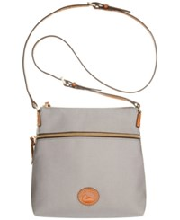 Dooney And Bourke Nylon Crossbody Grey