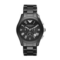 Emporio Armani Ar1400 Mens Ceramic Bracelet Watch Black