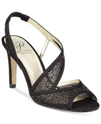 Adrianna Papell Andie Evening Sandals Women's Shoes Black