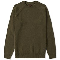 Barbour Staple Crew Neck Green