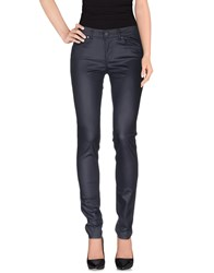Supertrash Trousers Casual Trousers Women Dark Blue