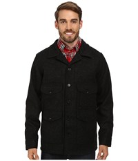 Filson Wool Mackinaw Cruiser Charcoal Men's Coat Gray