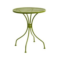 Nordal Round Garden Table Green