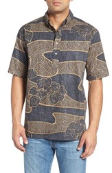 Reyn Spooner Men's Lo'i Kalo Short Sleeve Sport Shirt