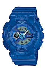 Baby G Ana Digi Watch 43Mm Blue
