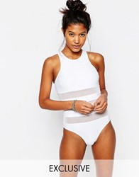 South Beach Issy Swimsuit White