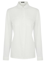 Oasis Washed Casual Shirt Crystal