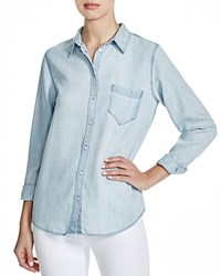 Dl1961 Mercer And Spring Chambray Shirt Bleach