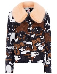 Shrimps Baby Puss Faux Calf Jacket Multi