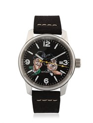 Proff Laurel And Hardy New Vintage Watch