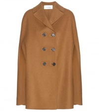 Valentino Wool Cape Brown