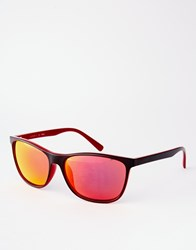 Esprit Square Sunglasses Black