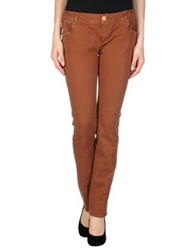 Magazzini Del Sale Denim Pants Brown