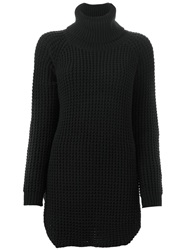 Hope Long Roll Neck Sweater Black
