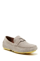 Andrew Marc New York Hollis Driving Loafer Gray