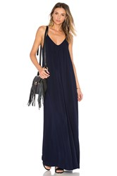 Michael Stars Maxi Slip Dress Navy