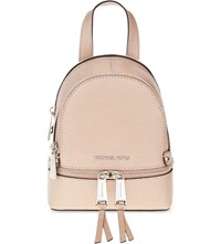 Michael Michael Kors Rhea Extra Small Leather Backpack Ballet