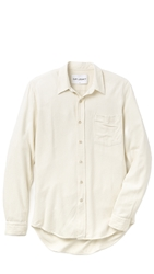 Our Legacy Silk Classic Shirt White