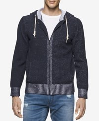 Calvin Klein Jeans Men's Plated Jersey Hoodie Classic Na