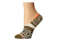 Stance Light Star Army Green Women's Crew Cut Socks Shoes