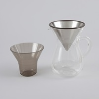 Kinto Slow Coffee Carafe Set 600Ml Stainless Steel