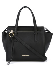 Salvatore Ferragamo 'Amy' Tote Black