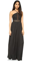 Style Stalker Night Rider Maxi Dress Noir