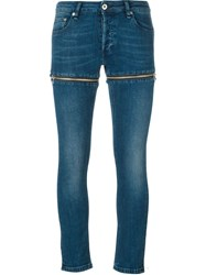 Hood By Air Stretched Jeans Blue