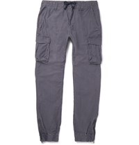 Beams Japan Silm Fit Cotton Cargo Trousers Gray