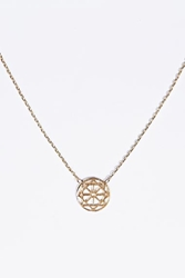 Love Spinner Necklace In Gold At Urban Outfitters